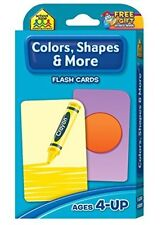 Educational Picture Colors Shapes Flash Cards Kids Toys Set Training Fun Boy&G