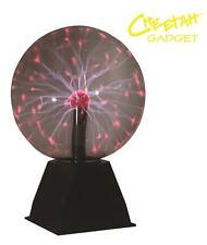 Cheetah DISCOTECA PARTY DJ Lighting contatto TOUCH SENSITIVE 8 POLLICI AL PLASMA BALL Lampada