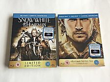 The Snow White & Huntsman Winter's War 3D Blu-Ray Steelbook [UK] 2000 Printed!