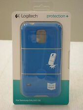 * NEW IN BOX* Logitech Protection + Plus Case for Samsung Galaxy S5 - Blue Khaki