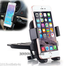 CD Slot Car Stereo Smart Phone Holder Mount for Apple iPhone 6s - iPhone 6s Plus