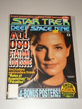 STAR TREK DEEP SPACE NINE #7 VF STARLOG US MAGAZINE STATION LOG ISSUE DAX