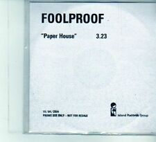 (DU560) Foolproof, Paper House - 2004 DJ CD