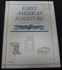 Early American Furniture Kevin Callahan 1975 Hardcover HC