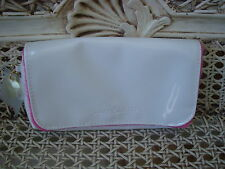 JUICY COUTURE ADORABLE WHITE MAKE UP COSMETIC BAG **SO CUTE**