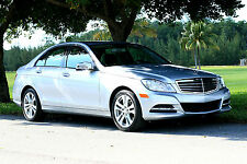 2014 Mercedes-Benz C-Class Luxury Sedan 4-Door