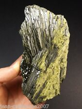 545G!!! EXTRA RARE TOP COLLECTION EPIDOTE RADIEE EVENTAIL!! MAHAZOMA,MADAGASCAR