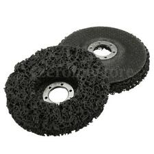 """2x Rust Paint Remover Abrasive Poly Disc Wheel For 115mm 4.5"""" Angle Grinder New"""