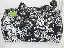 VERA BRADLEY NEW WITH TAGS MIDNIGHT PAISLEY SMALL DUFFEL FREE SHIPPING