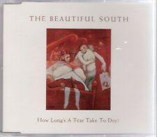 THE BEAUTIFUL SOUTH-How Long's A Tear Take To Dry? (1999) (CDM) Promo Mercury