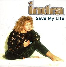 CD Single INDRA Save my life 3-track CARD SLEEVE NEW SEALED + RARE +