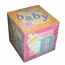 "12 FUN COLORFUL BABY SHOWER GOODY BOXES 5"" DECORATIONS NEW IN SEALED PACKAGE"