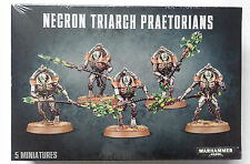 5 Necron Triarch Praetorians / Lychguard, mutli-part plastic kit for 40k - BNIB