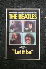 Beatles Poster Let is be