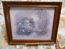 Andres Orpinas Framed Print of Old House
