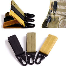 Safety 3pcs Tactical Gear Carabiner Buckle Set Key Ring Chain Hook For Molle Bag