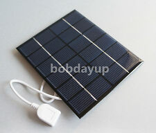 2W 6V USB Mini Solar Panel Module Solar System Solar Epoxy Cells Charger DIY