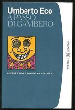 Umberto Eco : A passo di gambero - Tascabili Bompiani 2007