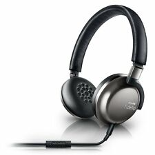 PHILIPS Headphones with Mic F1/27 Fidelio Premium Lightweight Travel Black NEW