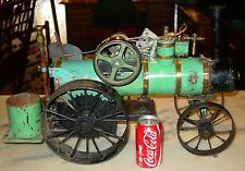 Antique Neat live steam engine--moving parts---intricate----15378