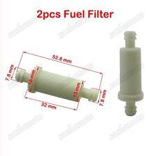 2x InLine Fuel Oil Filter For ATV Polaris # 2530009 Ski-Doo 414536500 Snowmobile