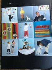 poster recto verso Collection Tintin ETE 2000 TBE