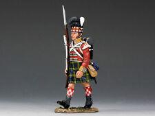 King And Country 92a Highlander marchando con Rifle na241 Metal Pintado