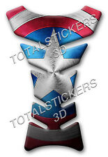 TANK PAD Paraserbatoio RESINATO 3D CAPTAIN AMERICA SHIELD STYLE - COD GP-019