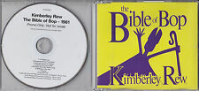 KIMBERLEY REW BIBLE OF BOP 1981 RARE 11 TRACK PROMO CD [KATRINA AND THE WAVES]