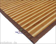 Tapis Tapis Bambou bambou Natte de bambou 180 x 150 cm