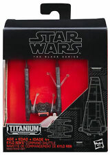 "HASBRO Star Wars VII Black Series Titanium Vehicle "" KYLO RENs COMMAND SHUTTLE """