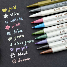 10pcs Cute Mixed Permanent Marker Pens Painting Pencil Fine Point Waterproof