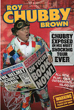 ROY 'Chubby' BROWN in person signed 12x8 - COMEDY LEGEND