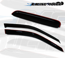 Out-Channel Window 2mm Visors Rain Guard Sunroof 3pc Hond CRX 2 Door Coupe 88-91