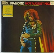 "2x12"" LP - Neil Diamond - Hot August Night - A2918h - washed & cleaned"