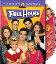 Full House: The Complete Sixth Season [4 Discs] (2007, DVD NEUF)4 DISC SET