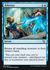 Aetherize X4 NM Commander 2015 MTG  Magic Cards Blue Uncommon