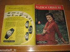 TV RADIOCORRIERE=1956/51=ANNA MOFFO=LASCIA O RADDOPPIA=