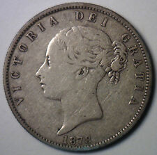 1878 Silver Britian Half Crown UK Coin YG