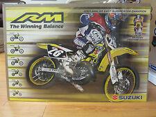 Dirt Bike racer Susuki 2003 Vintage Poster supercross branden Jesseman 110