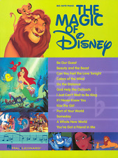 """THE MAGIC OF DISNEY"" BIG-NOTE PIANO/KEYBOARD MUSIC BOOK-NEW ON SALE SONGBOOK!!"