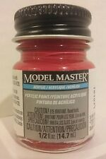 Testors Model Master Acrylic paint 4632, Guards Red.