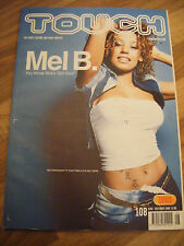 Touch Magazine Sept 2000-issue 108-Mel B on cover-RARE!