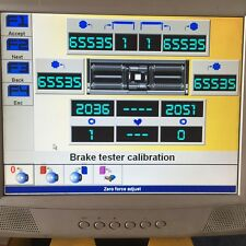 Bradbury MOT Brake Tester CALIBRATION. Class 4 or 7 ATL  Brake tester repairs.