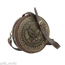 NEW Steampunk Bag Empire Aetheric Inclinometer Attache Pouch | FREE Delivery