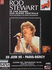 PUBLICITÉ RADIO NRJ AVEC ROD STEWART A PARIS BERCY 1995