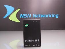 Digi PortServer TS-2 ADP 50000723-07 2-Port Server NO POWER SUPPLY INCLUDED