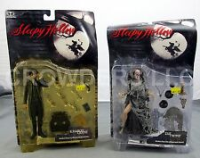 McFarlane Toys Sleepy Hollow ICHABOD CRANE (Johnny Deep) & The CRONE Figures NIP