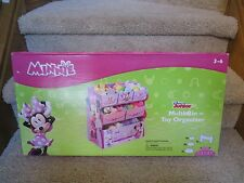 Minnie Mouse Toy Organizer Storage Multi Bin Children Room Furniture Box Cubby