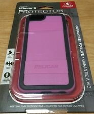 New in Box OEM Pelican ProGear iPhone 6 6S Pink Gray Protector Series Cover Case